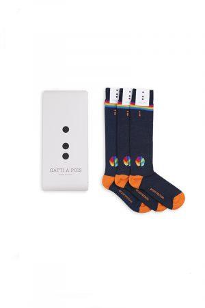 box 03 fighter socks